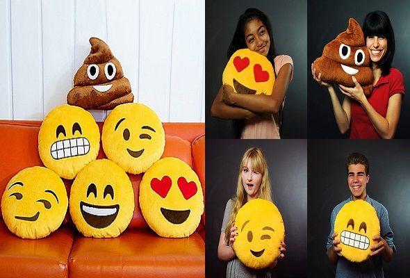Cojines emoticonos de whatsapp
