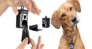 Dispensador de bolsas para perros