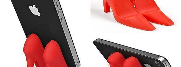 Soporte rojo para Smartphone