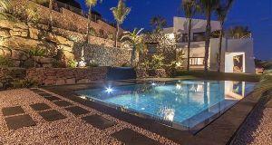 espectacular piscina chalet