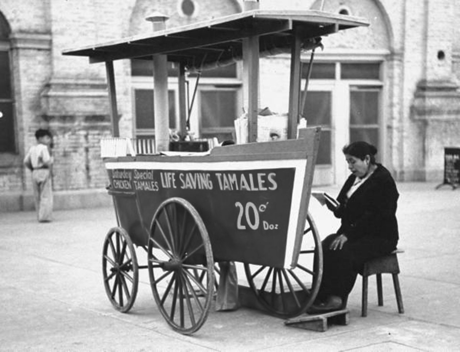 Tamales. Siglo XX