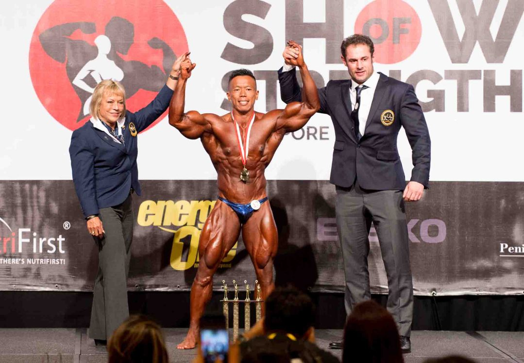 Men's Bodybuilding Overall Winner