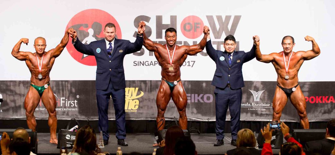 Men's Bodybuilding (over 85kg)