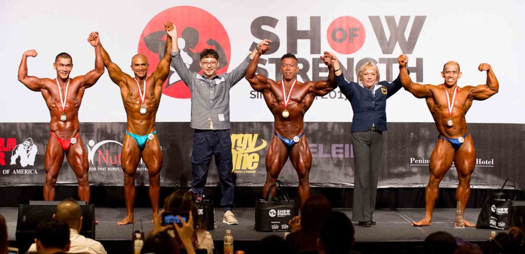 Men's Bodybuilding (up to 85kg)