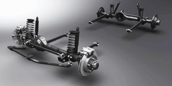 Sistem Suspensi Suzuki Jimny
