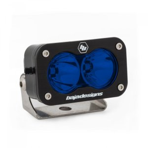 LED Light Pod Spot Pattern Blue S2 Pro Baja Designs