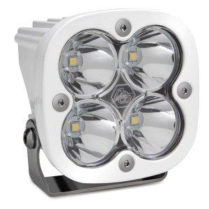 LED Light Pod White Clear Lens Work/Scene Pattern Squadron Pro Baja Designs