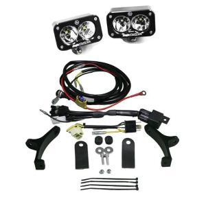 Dual Motorcycle Race Light Clear Lens XP Pro Series Baja Designs