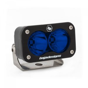 LED Work Light Blue Lens Spot Pattern S2 Sport Baja Designs