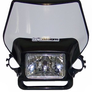 **Discontinued**Motorcycle Headlight Black Baja Designs