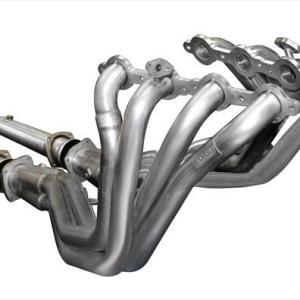 Long Tube Headers w/Connection Pipes 1.75 Inch x 3.0 Inch Catless Extreme Plus Sound Level 01-2003 Chevy Corvette C5 5.7L V8 Stainless Steel Corsa Performance