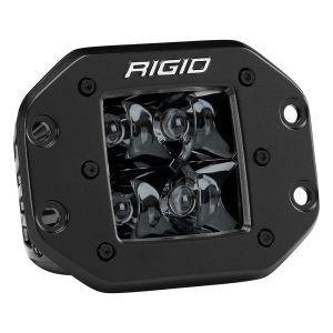 Spot Flush Mount Midnight D-Series Pro RIGID Industries