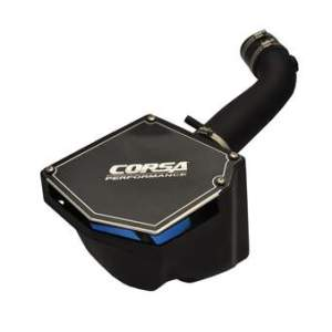Closed Box Air Intake with PowerCore Dry Filter 2007-2011 Jeep Wrangler JK Corsa Performance
