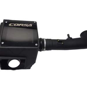Closed Box Air Intake With MaxFlow 5 Oiled Filter For 14-19 Silverado/Sierra 1500/Tahoe/Suburban/Yukon/Escalade Corsa