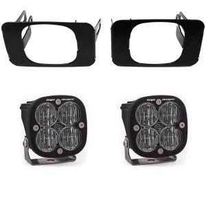Super Duty Fog Lights SAE Fog Pocket Kit 17-18 Super Duty 15-18 F-150 Baja Designs