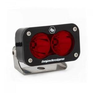 LED Light Pod Spot Pattern Red S2 Pro Baja Designs Baja Designs