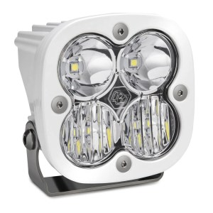 LED Light Pod Driving/Combo Pattern Clear White Squadron Sport Baja Designs