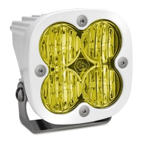 LED Light Pod Wide Cornering Pattern Amber White Squadron Sport Baja Designs