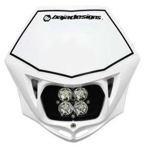 Motorcycle Race Light LED AC Red Squadron Sport Baja Designs