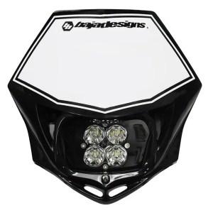 Motorcycle Race Light LED AC Black Squadron Sport Baja Designs