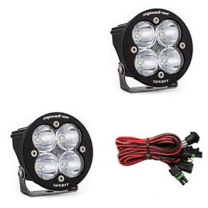 LED Light Pods Clear Lens Work/Scene Pair Squadron R Sport Baja Designs