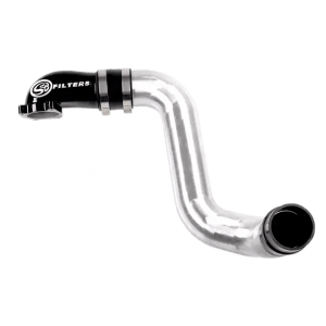 Intake Elbow 90 Degree With Cold Side Intercooler Piping and Boots For 05-07 Ford Powerstroke 6.0L S&B