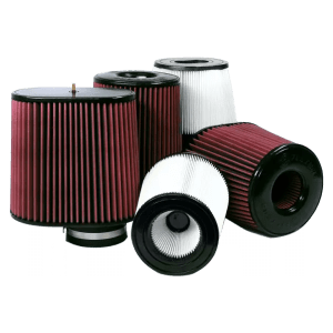 Air Filters for Competitors Intakes AFE XX-90020 Dry Extendable White S&B