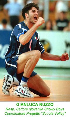"""Gianluca Nuzzo Resp. Settore giovanile e Progetto """"Scuola Volley"""""""