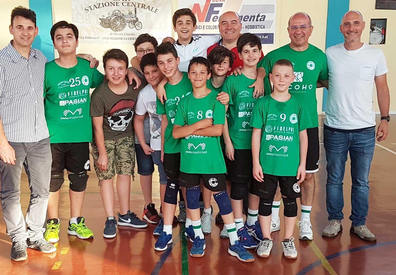 Gli allievi Showy Boys partecipano al campionato under 12