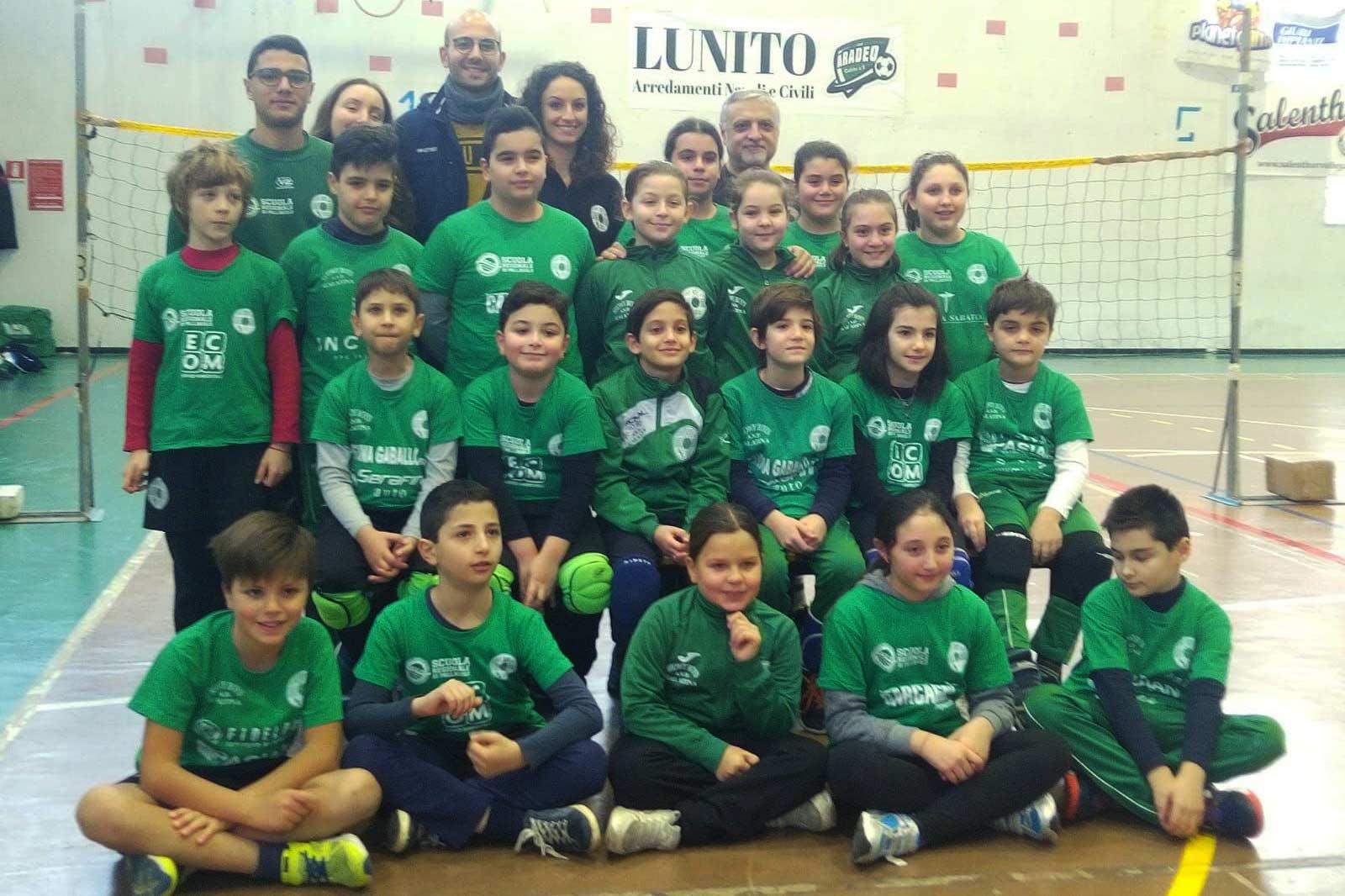 I giovanissimi della Showy Boys al primo raduno stagionale Volley S3