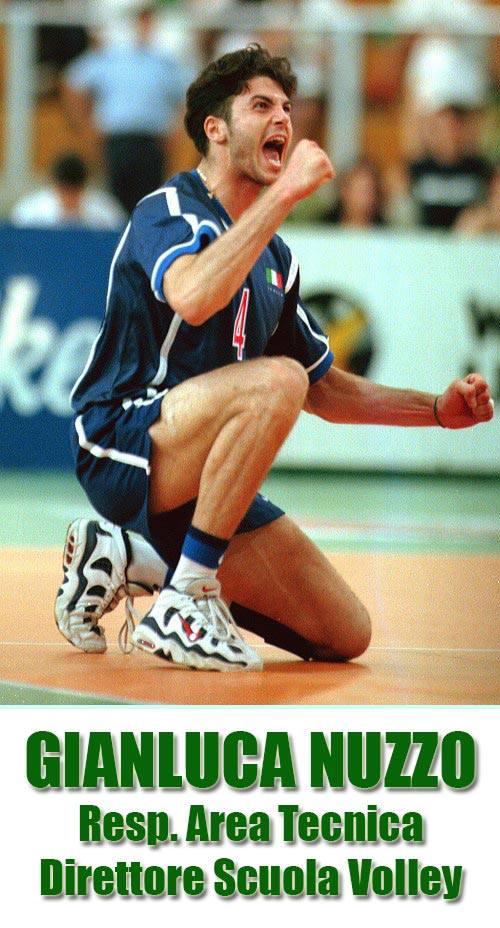 Gianluca Nuzzo Resp. Area Tecnica e Direttore Scuola Volley