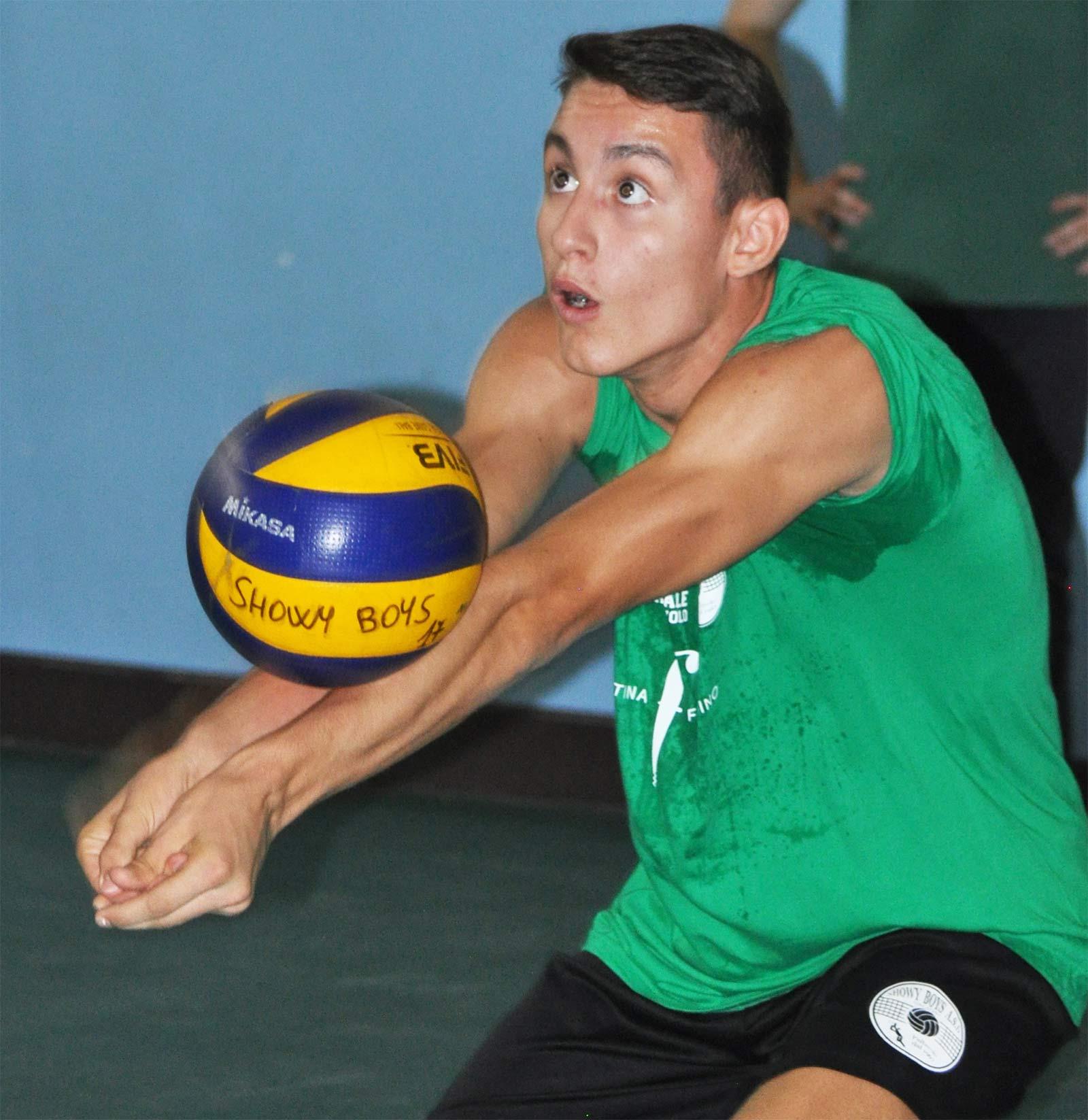 Marco Martina e la sua più grande passione: la pallavolo