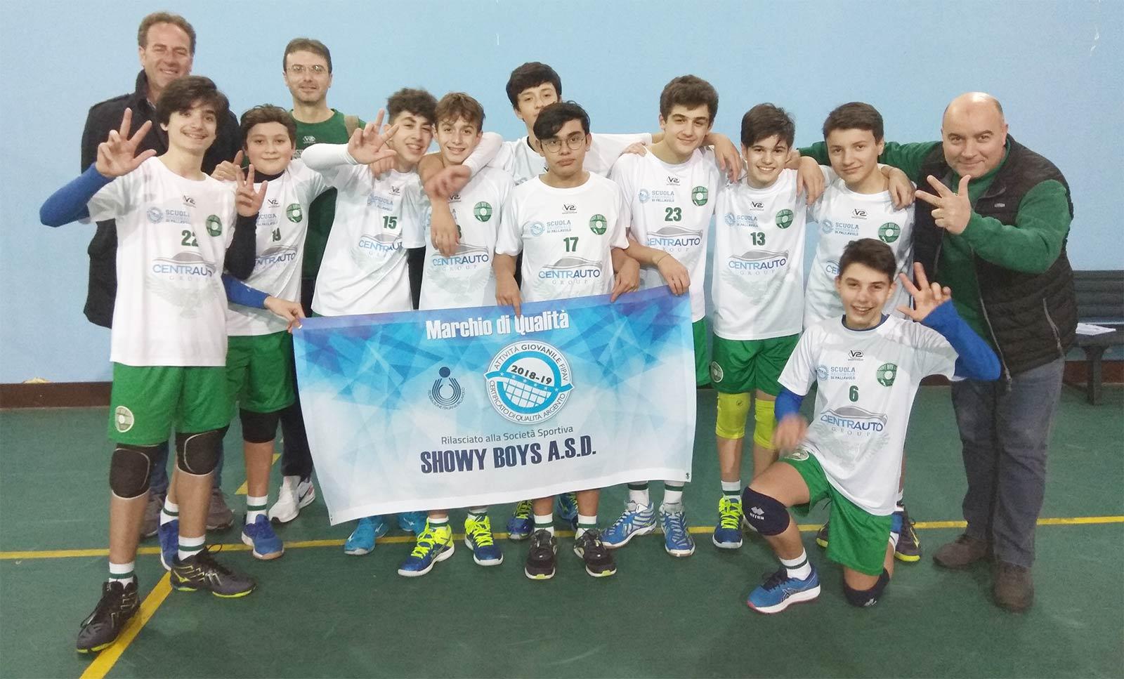 Al via il campionato 3D Young maschile della Showy Boys
