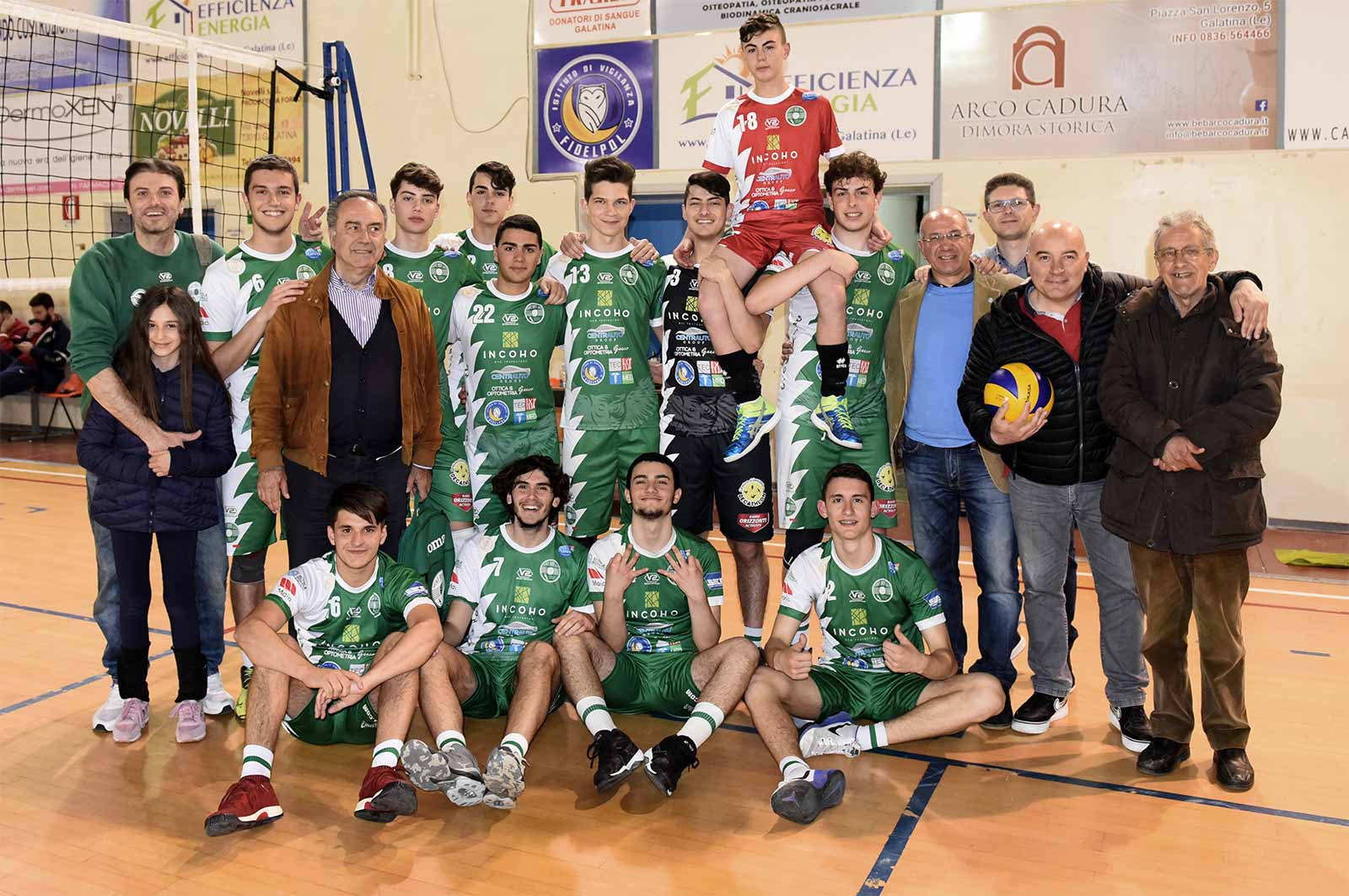 La Showy Boys under 18 tra le prime quattro di Puglia