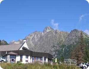 Tatra mountains from Stary Smokovec
