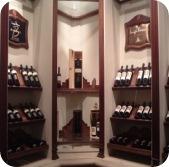 Luigi Bosca wine display