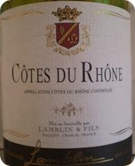 Cotes Du Rhone 2009