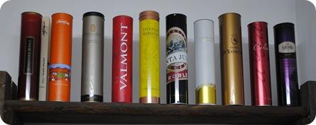 Mendoza wine containers