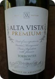 ALTA VISTA Premium Torrontes 2008