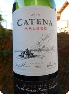 Catena Zapata Malbec 2010