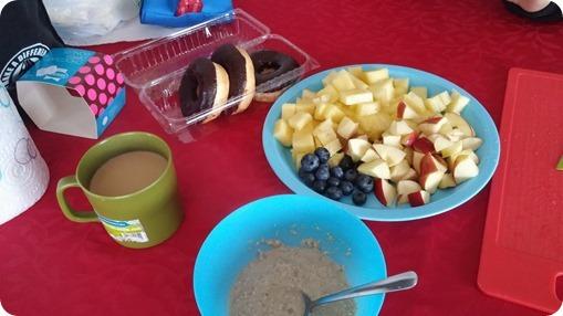 ארוחת בוקר בפארק