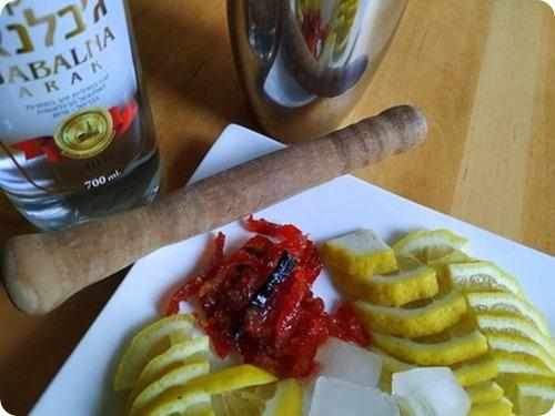 Arak Caipirinha with Red Pepper and Vanilla jam3