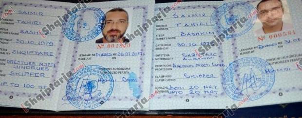 pasaporta sajmir tahiri