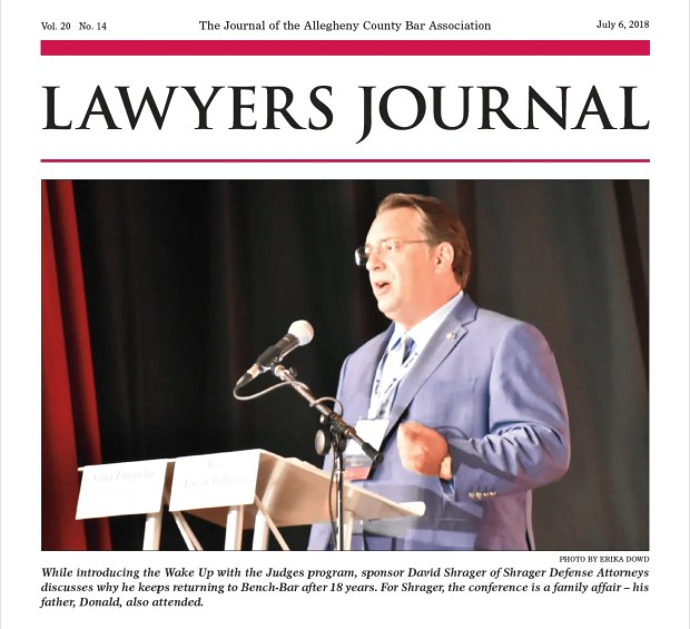 Allegheny Co Bar Association Lawyers Journal