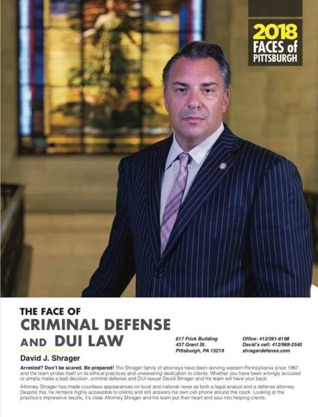 Attorney Shrager - Face of Criminal Defense and DUI Law