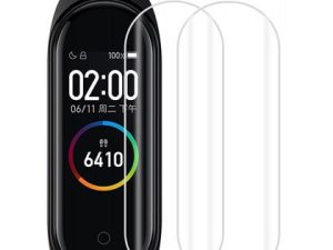 Xiaomi Mi Band 4: WOW Imagine Screen Scratch Guard Protector Film for Mi Band 4 at Best Price