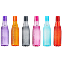 Bottle Plastic – Solimo Plastic Fridge Bottle, 6Pcs at Best Prices