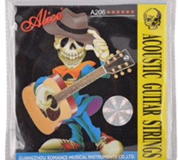 Guitar Strings- Alice Bronze Acoustic _ (Pack of 1) at Best Prices