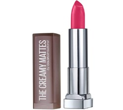 Buy Maybelline Creamy Matte Lipstick: Maybelline New York Color Sensational Creamy Matte Lipstick, 630 Flaming Fuchsia
