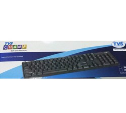 TVS Champ Keyboard USB for use Dekstop and Laoptop (Multicolour) at Best Price For 2020